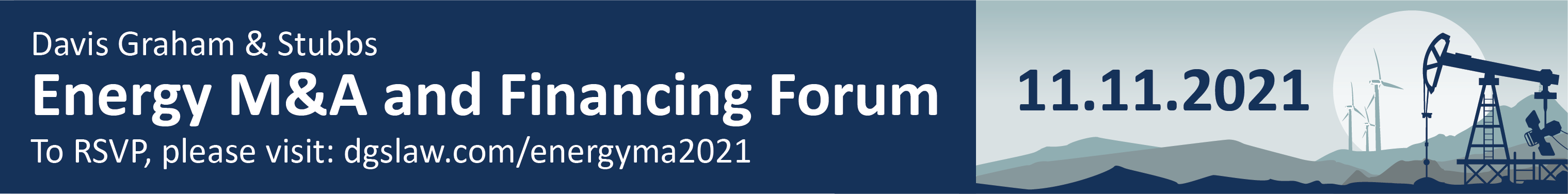 2021 Energy M&A and Financing Forum Ad