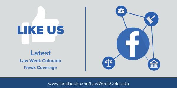 Ad promoting Law Week Colorado On Facebook